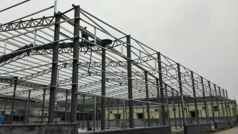 钢结构厂房-金华市义乌天籁钢膜结构有限公司